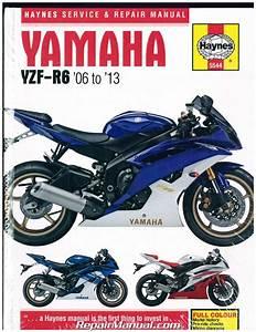 2006 Yamaha Yzfr6v Service Repair Manual 06