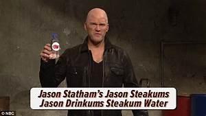 Chris Pratt does impersonation of Jason Statham in SNL ...