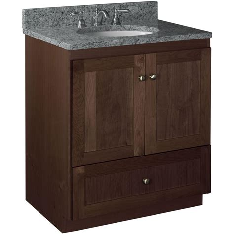 shaker vanity cabinets simplicity by strasser shaker 30 in w x 21 in d x 34 5