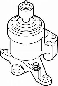 Lincoln Mkz Mount  Engine  Bracket  3 5 Liter  3 7 Liter