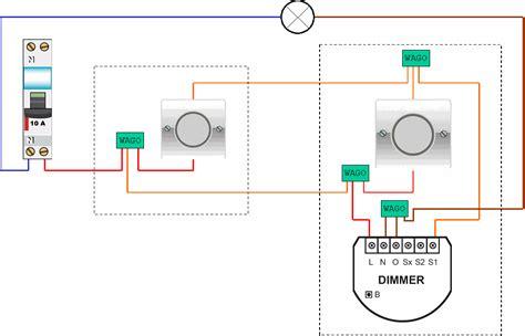 schema bouton poussoir domotique l atelier du