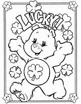 Coloring Bear Care Pages Bears Printable sketch template