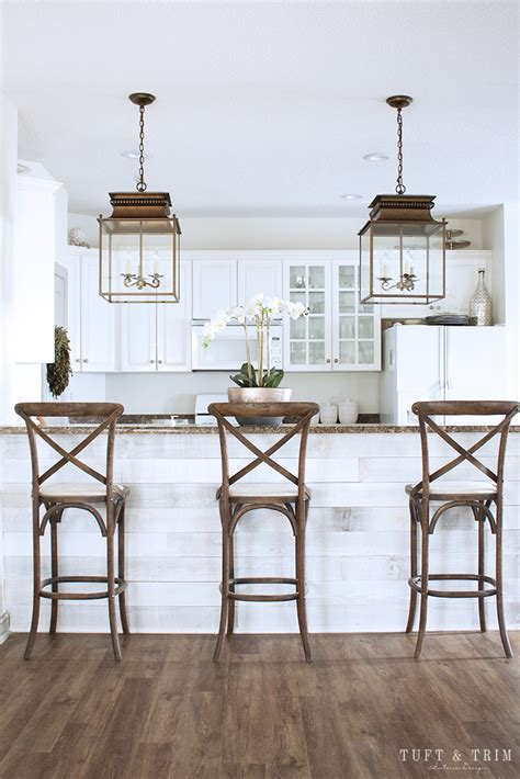 kitchen lighting update reveal farmhouse style lanterns