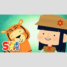 Walking In The Jungle  Super Simple Songs Youtube