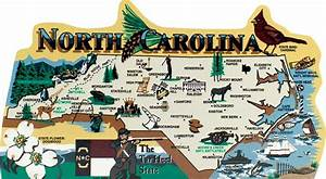 State Map, North Carolina The Cat's Meow Village