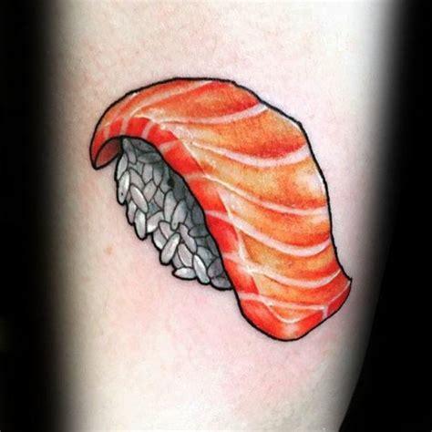 sushi tattoo designs  men japanese food ideas