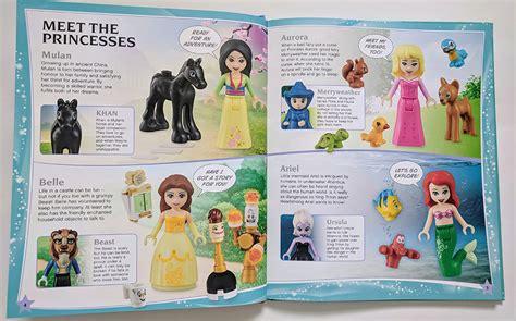 lego disney princess build   adventure book review