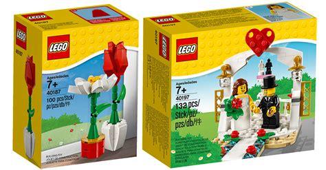 größtes lego set nouveaut 233 s lego 2018 40197 wedding favor set et 40187