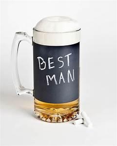 Best man wedding gifts beer mug chalkboard onewedcom for Best man wedding gifts