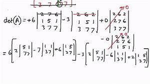 Determinante 4x4 Matrix Berechnen : determinants 4 x 4 matrix example 1 youtube ~ Themetempest.com Abrechnung