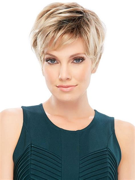 short haircuts for round faces 2016