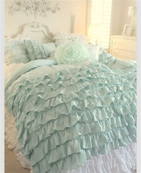 mint green shabby chic bedding top 343 ideas about romantic chic bedding pillows and towels on pinterest shabby chic bed