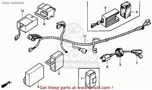 Honda Trx250r Fourtrax 250r 1986  G  Usa Wire Harness