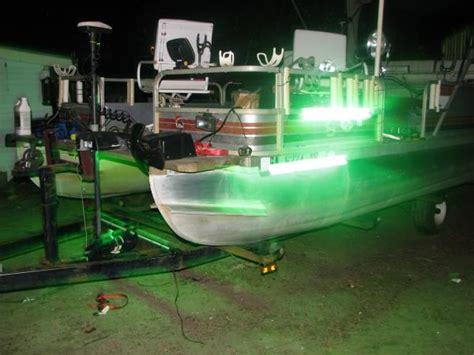Fishing Lights For Pontoon Boats pontoon fishing lights need everyones opion