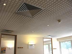 Dalle Pour Plafond : castorama faux plafond interesting pose faux plafond ~ Edinachiropracticcenter.com Idées de Décoration