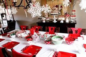 Deco Table Noel Rouge Blanc Idees Accueil Design Et Mobilier