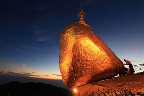 kyaiktiyo pagoda  myanmar travelling moods