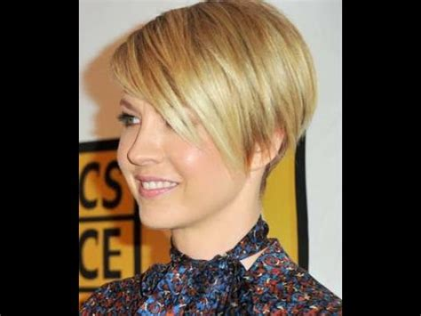 short hairstyles for faces and fine hair youtube