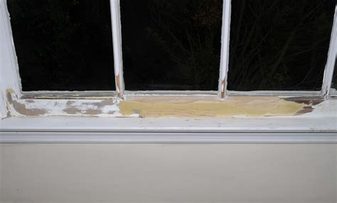 Interior Window Sill Repair by Repair A Rotted Window Sill Self Made Homes