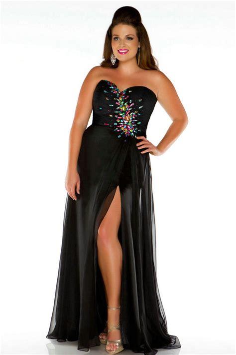 robes de mode robe courte noire grande taille