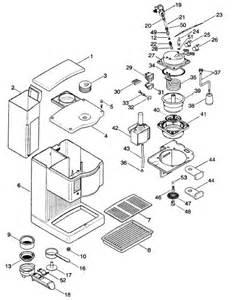 Delonghi Coffee maker Spares accessories BAR14FE