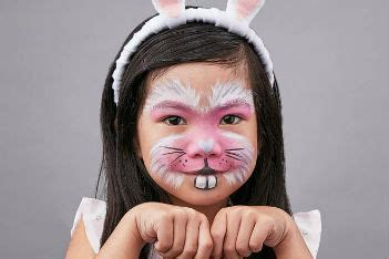 face painting tutorial   turn  kid   fluffy
