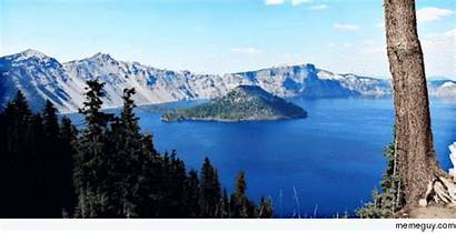 Crater Lake Oregon Winter Taking Meme Likes