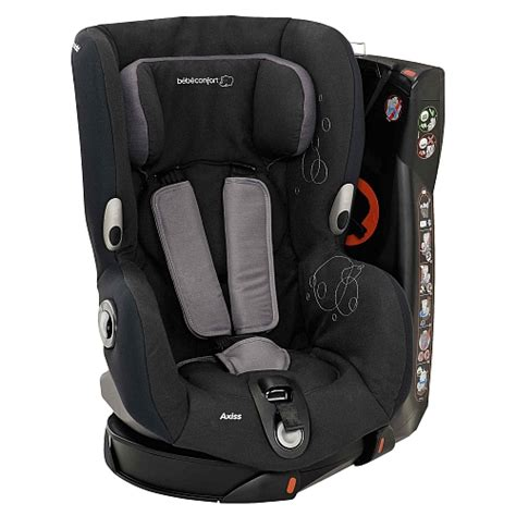 siege auto bebe bebe confort axiss total black
