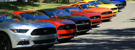Annual Mustang Rally near Brainerd
