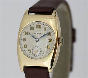 Antique Rolex  Manual Winding Wristwatch  Circa 1920s For