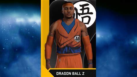 nba  dragon ball  jersey pack  tutorial nba