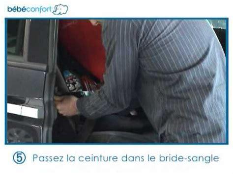 vidéo d 39 installation du siège auto iséos neo de bébé