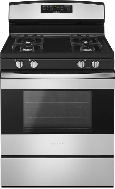 amana agrmfs   gas range  bake assist easy touch controls warm hold  sealed