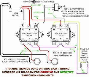 Wiring Diagram For Relay For Spotlights