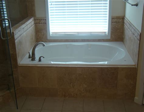 bathroom tile tiled bathtub surround shower ideas grey