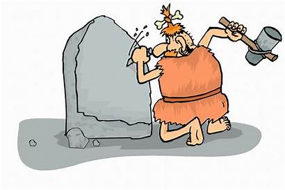 Cave Chiseling Wheel Caveman Inventing Easy Skit