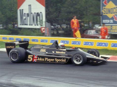 Mario Andretti, Lotuscosworth, Zolder, 1978 · F1 Fanatic