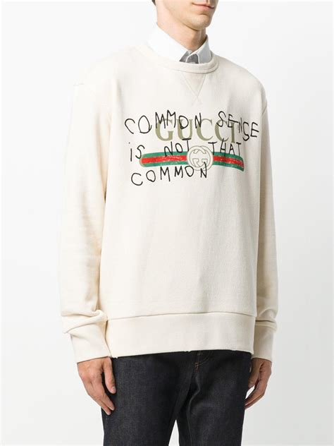 lyst gucci common sense    common sweatshirt