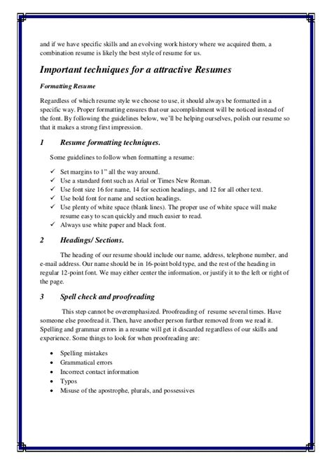 Resume Assignment assignment resume