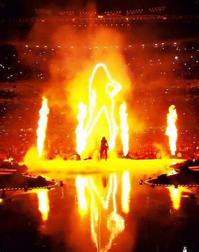 Beyonce Fire Halftime Glory Bowl Super Fierce