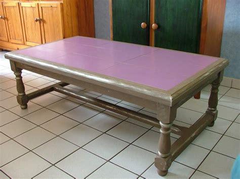 table cuisine en pin relooker une table basse de salon ezooq com