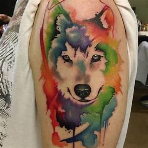 48 Powerful Wolf Tattoo Designs (Tribal, Traditional ...