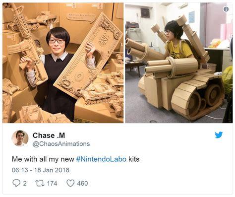 Nintendo Labo Memes - labo nintendo switch know your meme