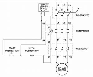 How To Wire A Motor Starter