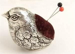 cute antique silver pin cushion. | Pincushions plenty ...