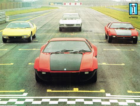 Scans of De Tomaso Pantera, Pantera GTS, Pantera Gr. 4 ...
