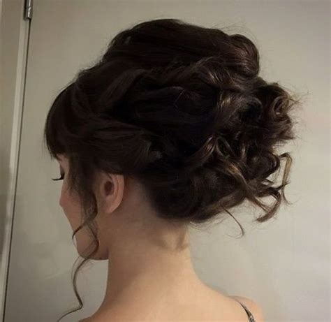 40 Creative Updos for Curly Hair