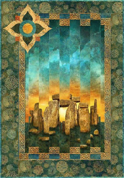 summer solstice quilt kit stonehenge solstice quilt