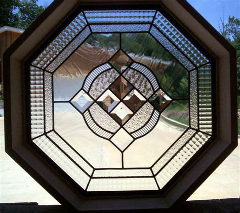 octagon anderson stained glass windows glasses