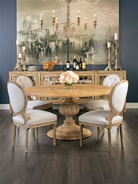 magnolia  dining table french country dining room